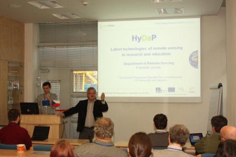 Přednáška na konferenci HyDap